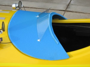foam hatch with wind screen